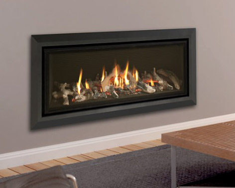 Infinity 890CF Hole in Wall Gas Fire - York Fireplaces & Fires