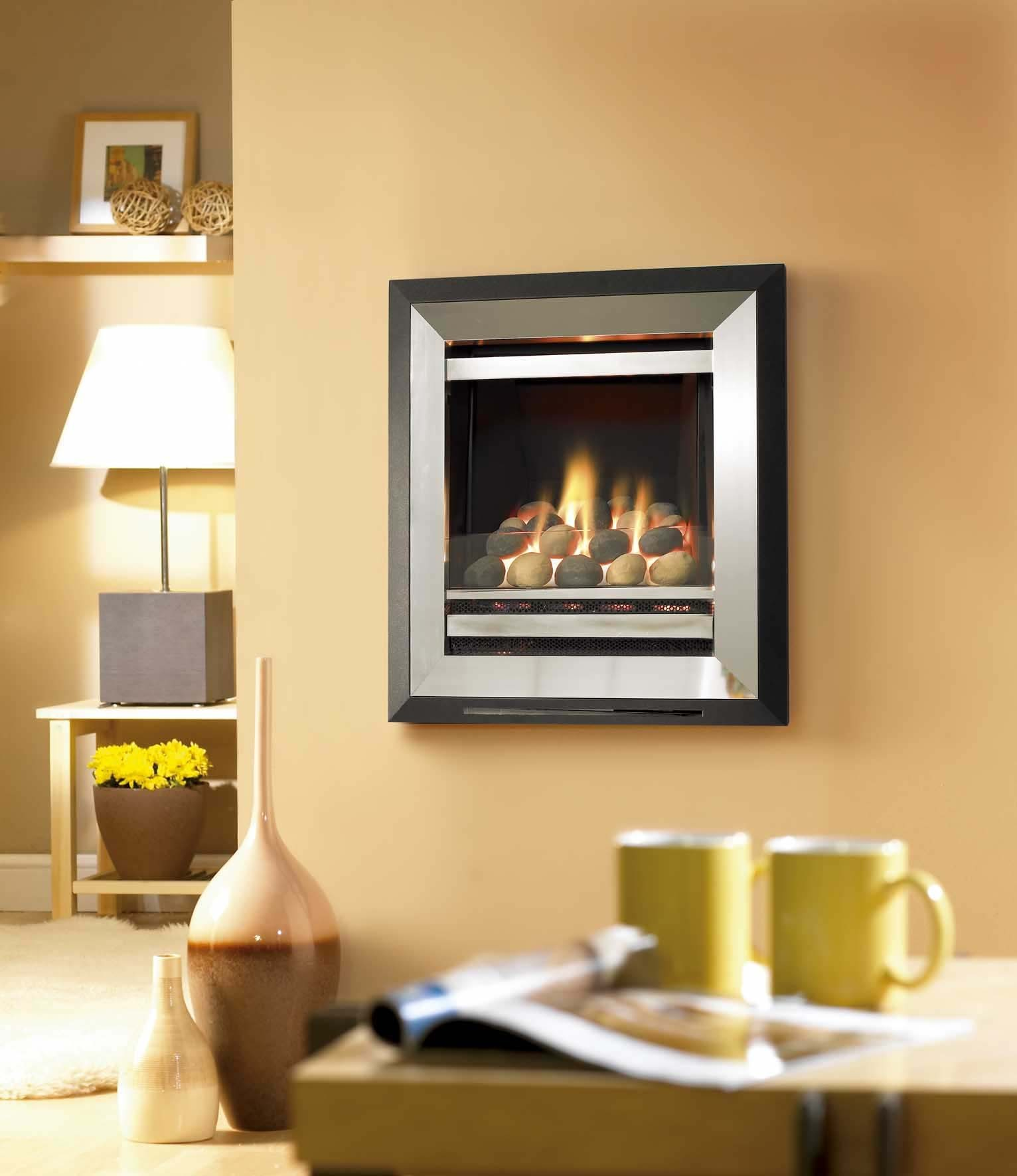 Flavel Diamond Hole In Wall Gas Fire York Fireplaces Fires