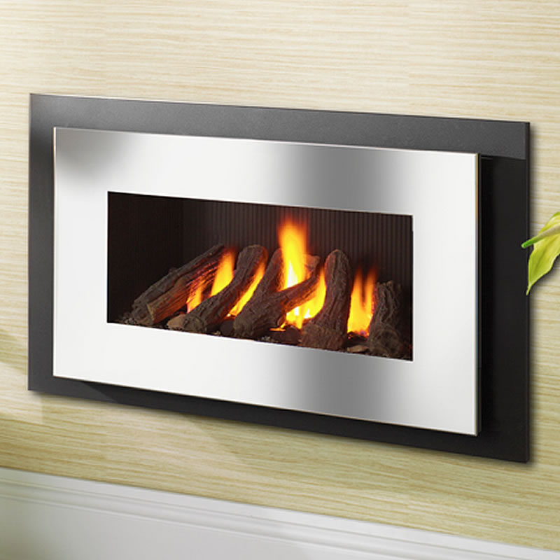 Crystal Miami Hole In Wall Gas Fire York Fireplaces Fires