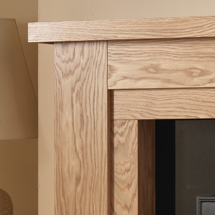Hanley wood fireplace with spotlights york fireplaces for Handley wood