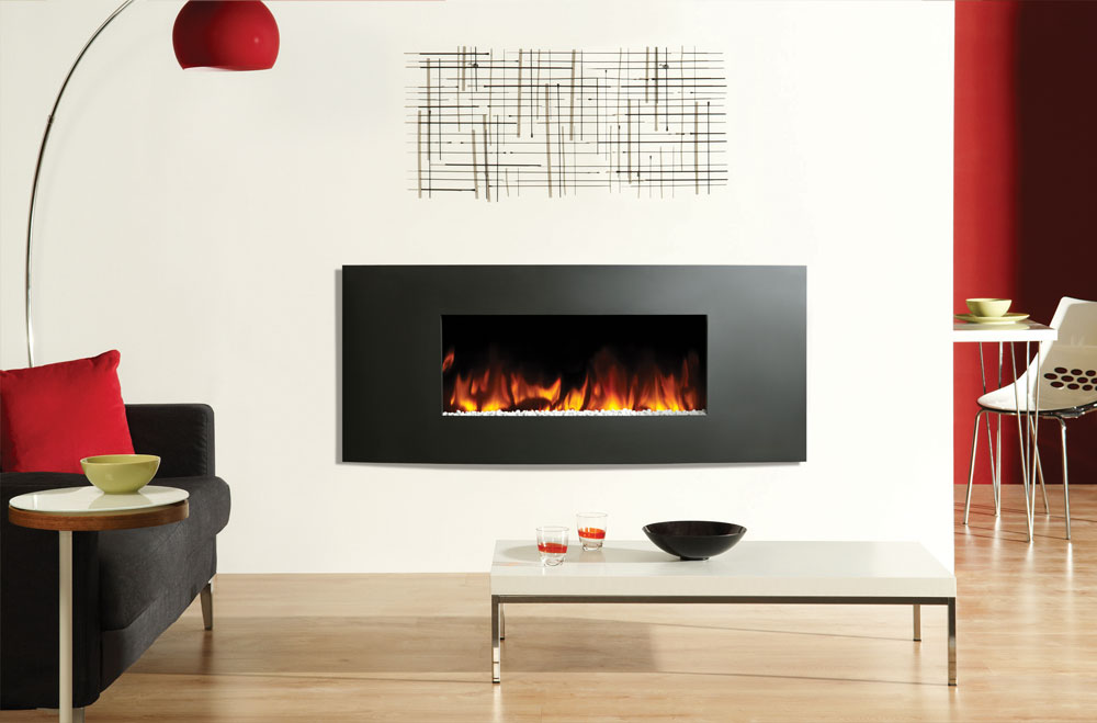 Gazco Verve Wall Mounted Electric Fire York Fireplaces