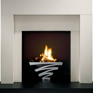 astra in fireplace