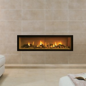 Gazco Studio Edge Hole In Wall Gas Fire York Fireplaces