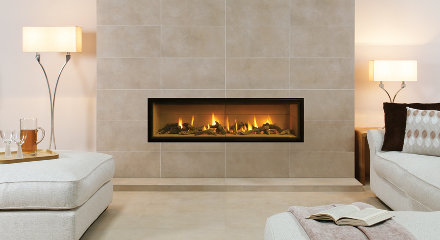 Gazco Studio Edge Hole in Wall Gas Fire - York Fireplaces ...