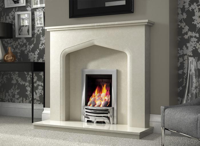 Verdena Marble Fireplace York Fireplaces Fires