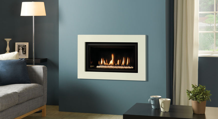 Gazco Studio Expression Hole In Wall Gas Fire York Fireplaces Fires