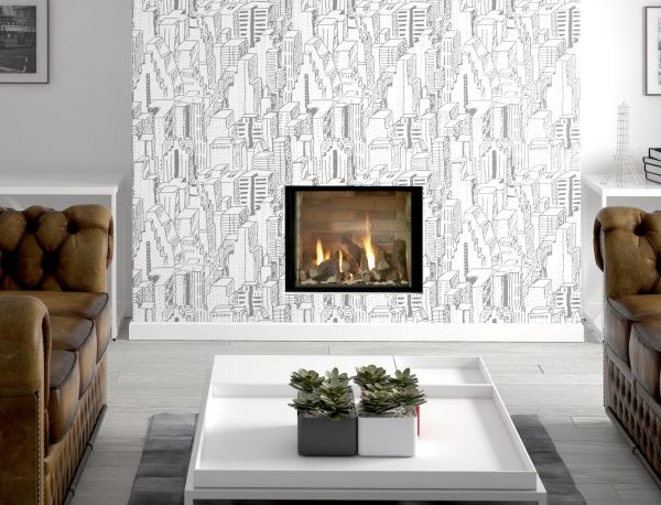 Infinity 480FL Hole in Wall Gas Fire - York Fireplaces & Fires