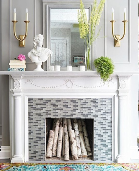 6 decor ideas for a nonworking fireplace york fireplaces - Non working fireplace ideas ...