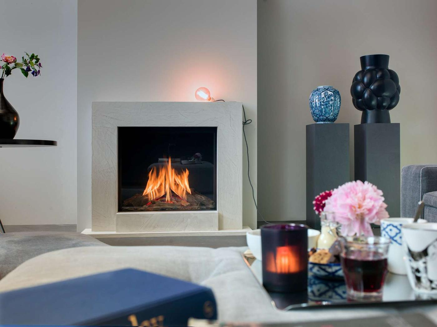 Faber Matrix Hole In The Wall Gas Fire York Fireplaces